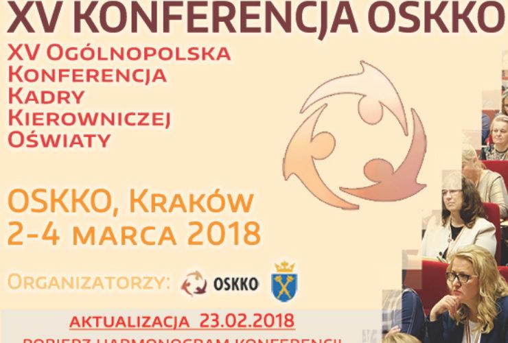 XV Konferencja OSKKO