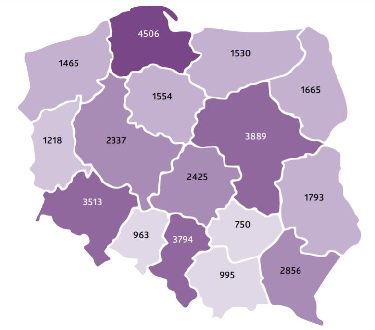 mapa gne